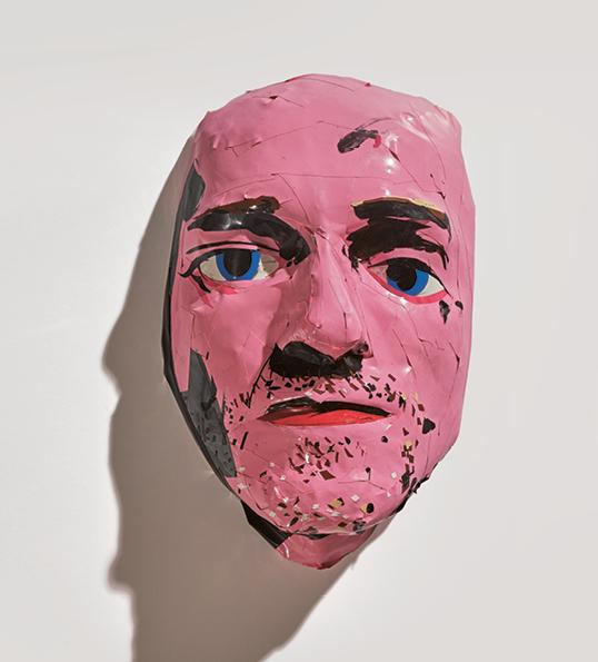 Erik van Lieshout - Ohne Titel. Lebensmaske von Karl Markovics, 2015