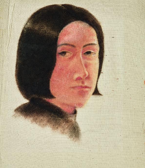 Erika Streit - Ohne Titel. Selbstporträt, um 1927