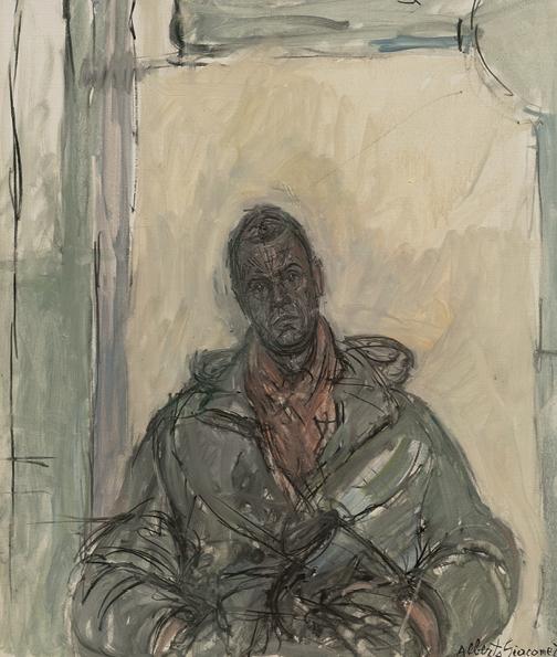Alberto Giacometti - PORTRAIT ERNST SCHEIDEGGER, UM 1959