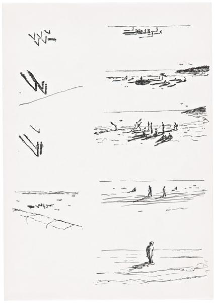 David Weiss - Wandlung 6, 1978
