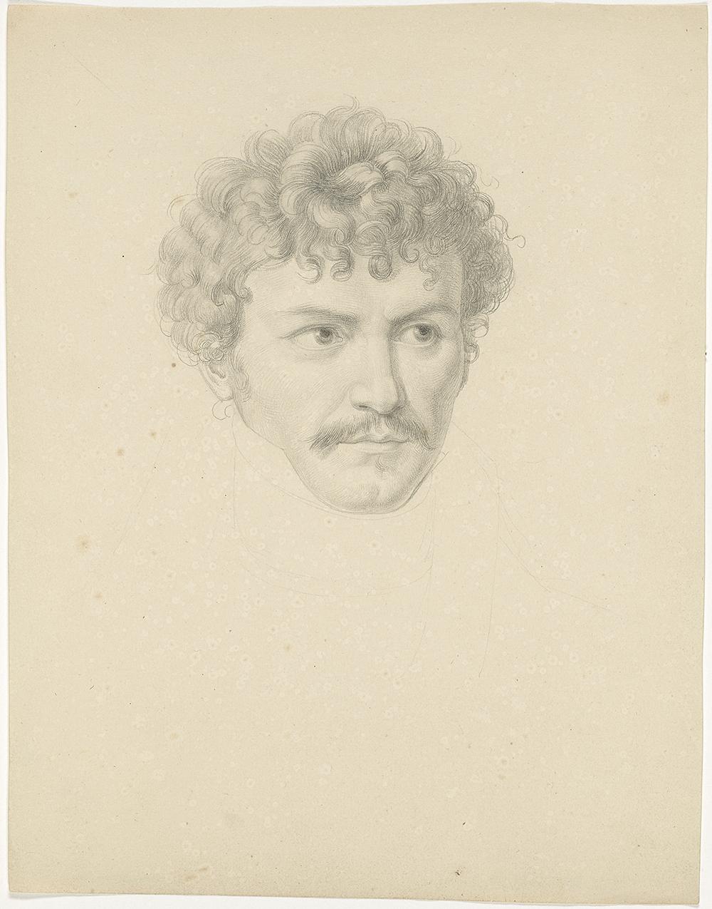 Daniel Albert Freudweiler - Bildnis Samuel Amsler, 1818–1821