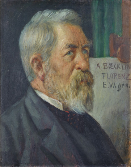 Ernst Würtenberger - Bildnis Arnold Böcklin, 1894/1895, 1894/1895