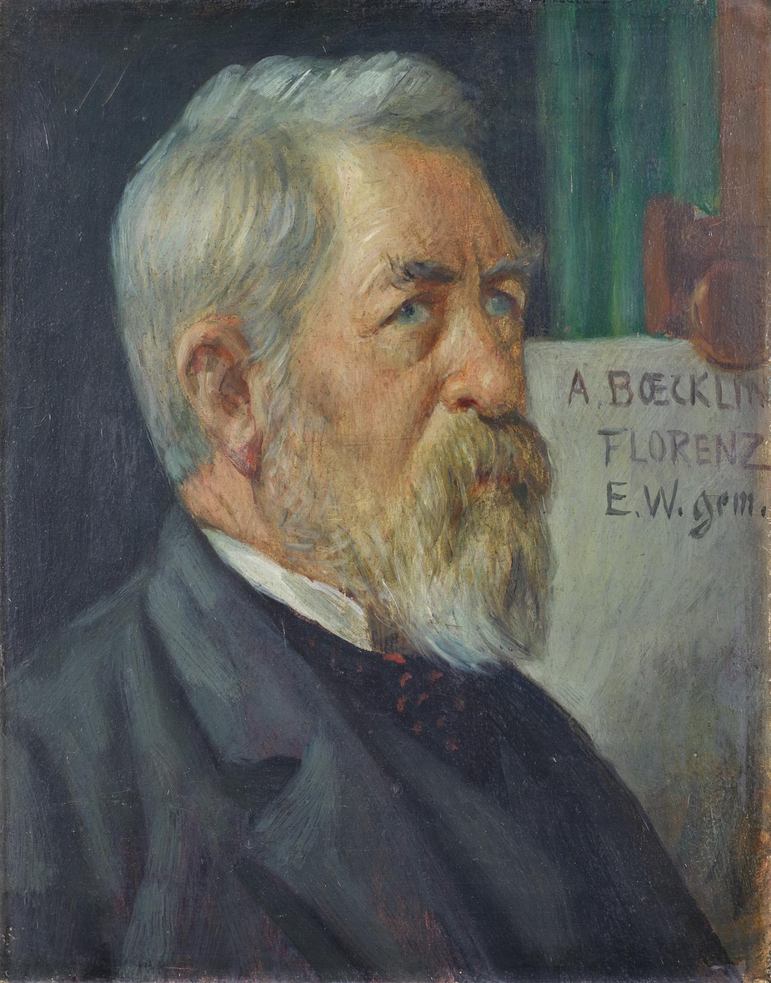 Bildnis Arnold Böcklin, 1894/1895