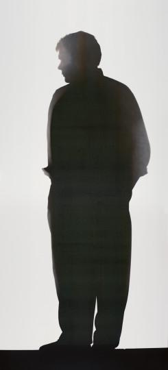 Floris Michael Neusüss - Neusüss, Portrait. Blatt der Werkgruppe «Portraitsilhouette», 1994, 1994