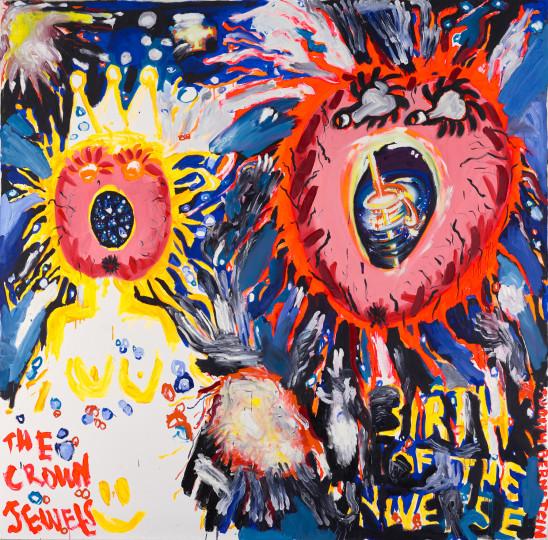 Judith Bernstein - BIRTH OF THE UNIVERSE #2, 2013, 2013