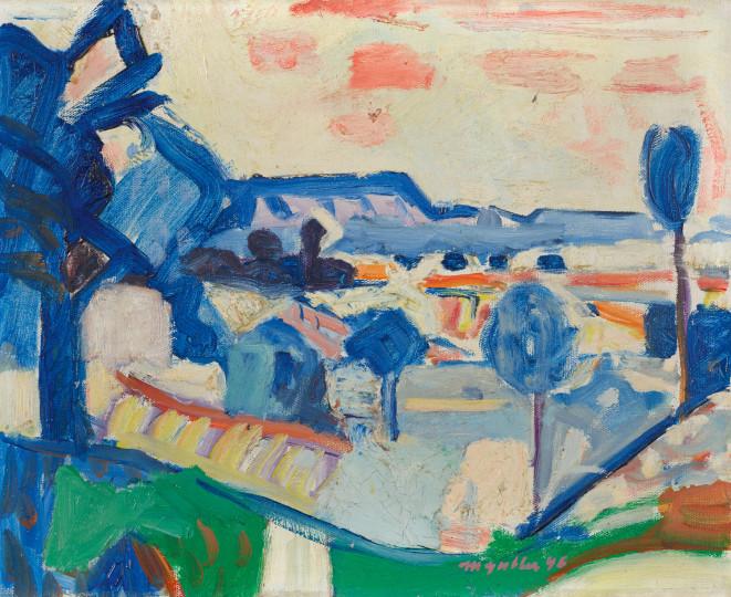 Max Gubler - Kleine Landschaft, Weiningerfeld, 1946, 1946