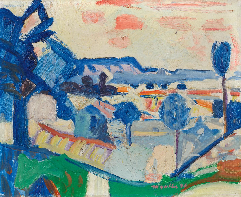 Kleine Landschaft, Weiningerfeld, 1946
