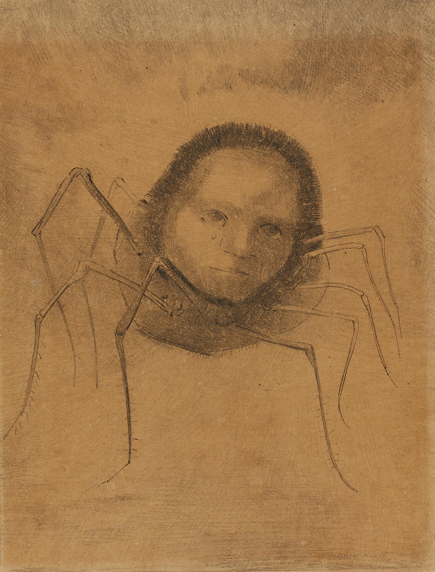 L'araignée qui pleure, um 1880